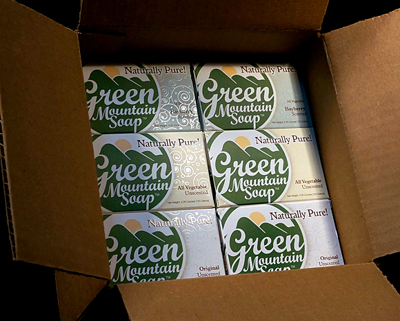 Green Mountain Soap Boxes