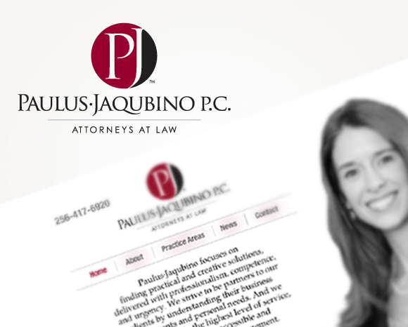 Paulus Jaqubino P.C. Logo and Website