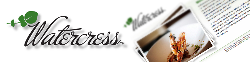 Watercress Logo and Website