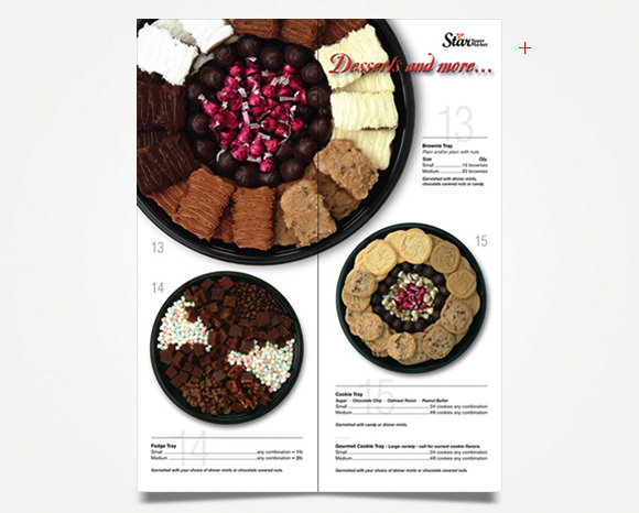 Print - Star Super Market - Party Tray Catalog