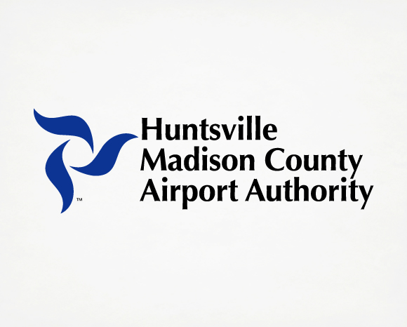 Identity - Huntsville Madison<br />County Airport Authority - Logo 1