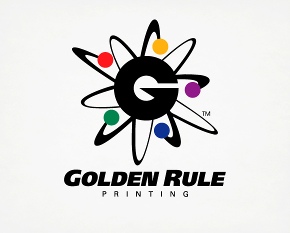 Identity - Golden Rule Printing - Logo 1