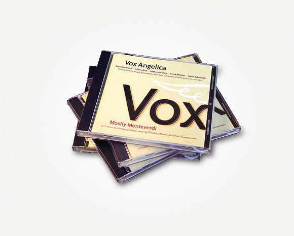 Packaging - Vox Angelica - Compact Disc 1