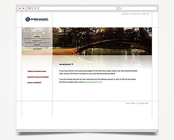 Web - Web Design - Solid Earth - Website 3