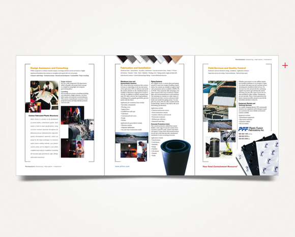 Print - Plastic Fusion Fabricators, Inc. - Corporate Capabilities Brochure
